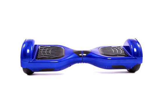 blue hoverboard