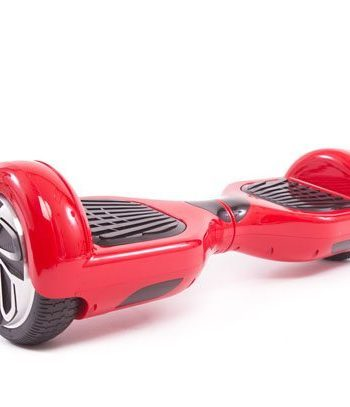 red hoverboard side
